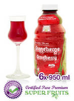 Jus De Canneberge Pure / Pure Cranberry Juice