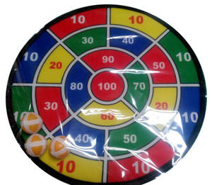 Wholesale Dartboards: 15inch Dart Board Game Target Toy with 3 Small Ball