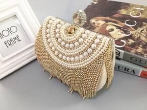 Wholesale purses: EVENING BAG Fashion Purse ,Beaded Bag,Evening Party Bag, Woman Handbag