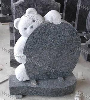 Teddy Bear Tombstone Amp Gravestone Amp Headstone Amp Memorial From China Xiamen Capot Stone Co Ltd