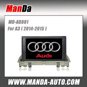 Wholesale audi mp4: 2 Din Car Audio for Audi A3 (2014-2015) Car Audio Manufacturer