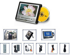 Wholesale dvd loader: Portable DVD Player