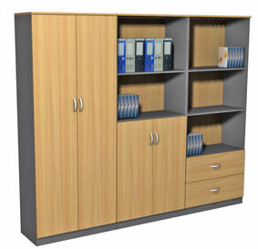 Awesome Office Furniture Wardrobe  Trend Home Design And Decor
