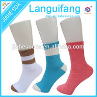 Sell sweet color cotton socks for young grils