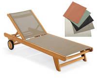 Sell teak wood sun lounger