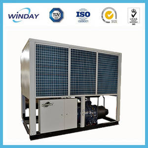 Wholesale screw air compressor: Europe Compressor Screw Chiller High Quality Air Cooled Industrial