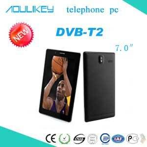 Wholesale 3g tablet pc: L&Y 7inch 3G Tablet Phone,DVB-T2 Digital TV Tablet PC,Support 3G Dual SIM Dual Standby and Quad Core