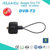 Pad TV Tuner,DVB-T2 HD Digital TV Receiver,TV Dongle for Android Devices!