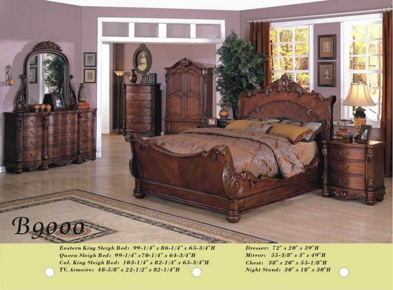 b9000 solid wood bedroom set id 5005422 product details
