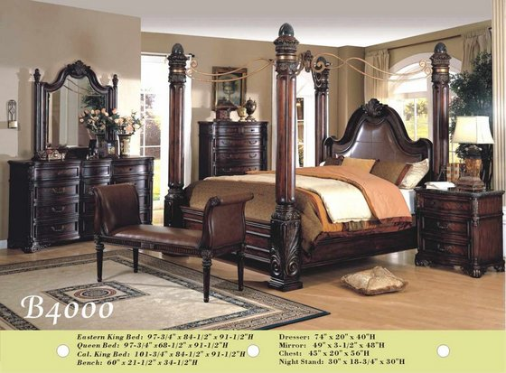 solid wood bedroom set id 5005531 product details view b4000 solid