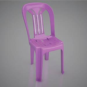 Wholesale chair: Plastic Large 3- Bar Chair