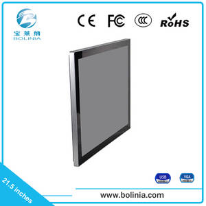 Wholesale lcd touch screen monitors: Capacitive Touch TFT 21.5 Inch USB Touch Screen High Resolution LCD Monitor