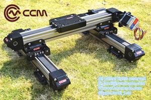 Wholesale guide rail: CCM W60 High Precision Driven Belt Motorized Customized Length Linear Rail Linear Guide CNC Parts