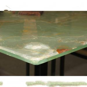 Wholesale Countertops, Vanity Tops & Table Tops: Natural Onyx Back with Glass