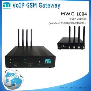 Wholesale voip telephone: 4 Port GSM Gateway/Gateway GSM Sip/GSM Voip Gateway Price