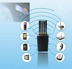Wholesale ring: 5 Antenna Portable Cell Phone   WI-Fi   GPS L1 Jammer