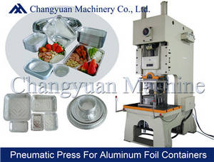 Wholesale punch: 63T Pneumatic Aluminium Foil Container Punching/Press Machine