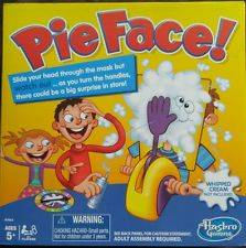 Wholesale game: Pie Face Game PIE Splat Funny Exciting Adult Kids Rocket Game Pie Face