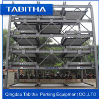 Wholesale parking system: 5 Floor Automated Puzzle Car Parking System