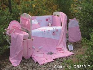 Wholesale cotton bedding comforter sets: Cotton Nursery Baby Comforter Bedding  Set