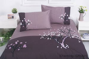 Wholesale bed sheet set: Luxury  Embroidery Bedding Set and Bed Sheet Set Poly-Cotton