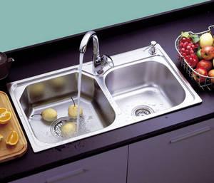 Wholesale clip dispenser: Kitchen Stainless Steel Sink