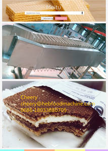Wholesale wafer biscuit: Food Factory Cheap Wafer Biscuit Machine