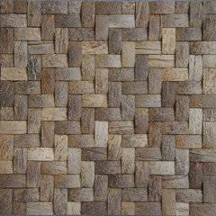 Wholesale border mosaic: Coconut Mosaic Weave Design