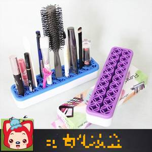 Wholesale makeup pencil: 2015 New Hot Selling Unique Silicone Cosmetic Storage Box Brush Cosmetic Case