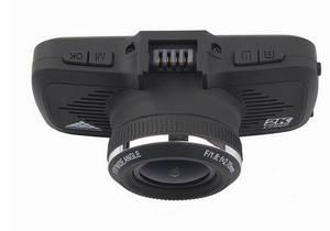 Wholesale carcam: Ambarella 2.7 Inch Wide Angle Car Camera 3 in 1 DVR Radar Detector with GPS Speed Warning Dash Camer