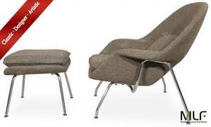 Wholesale grade a mid joint: MLF Eero Saarinen Womb Chair and Ottoman