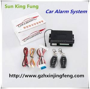 Wholesale car alarm system: Auto Parts Car Accessories Vehicle Parts Car Alarm System Keyless Entry Remote Control Central Lock