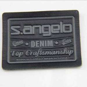Wholesale garment accessories: Jeans Leather Label for Garments Accessories