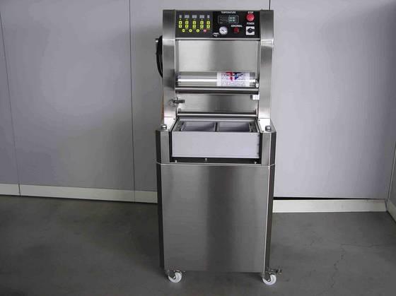 gas flush sealing machine