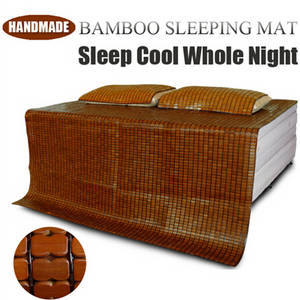 Wholesale handmade pillow: Handmade China Summer Cooling Bamboo Sleeping Bed Mat Cool Mattress Pad
