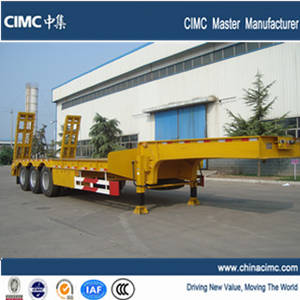 Wholesale brazil wax: 2014 Hot Sale CIMC Light Type 3 Axle Lowed Semi-trailer with Ladder