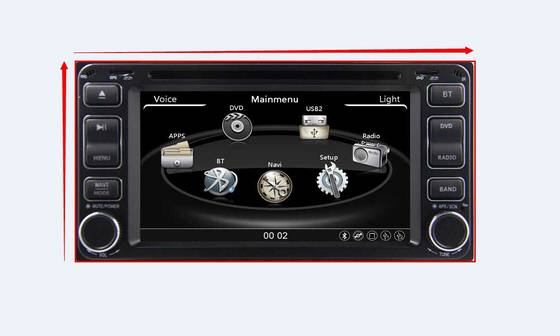 car mp3 player: Sell Car Radio DVD GPS for Toyota Universal,Camry,Hilux,Vitz,vios...