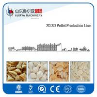 3D Papad Pellet Snack Processing Line