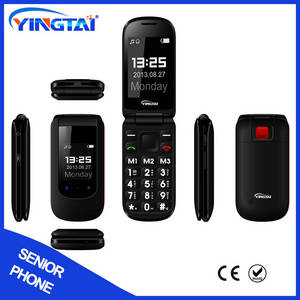 Wholesale dual sim mobile phone: 2.4-inch Dual-SIM Quad Band 3G Phones for Old People