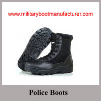 Wholesale China Made Split Leather Leight-weight Police Jungle Boots