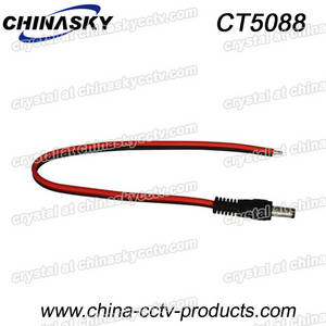 Wholesale cctv system: DC Power Cable for CCTV Security Cameras, Solar System (CT5088)