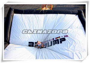 Wholesale snowboard materials: Durable Inflatable Big Air Bag for Skiing Sports Games