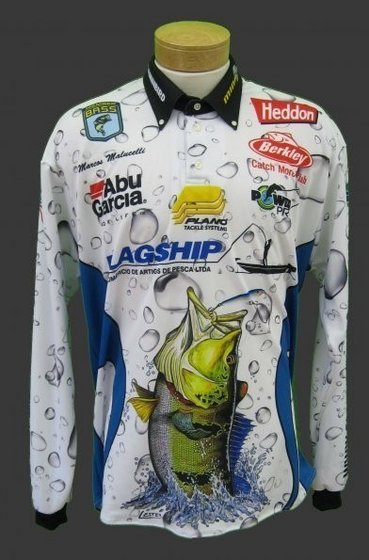 Professional custom design fishing jersey with sublimation for Tournament fishing shirts wholesale