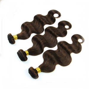 Wholesale Hair Extension: You Dye Chocolate Hair Weave Virgin Hair Tangle Free Beautiful Hair