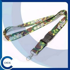 Wholesale Badge Holder & Accessories: Dye Sublimation Lanyard with Custom Logo