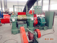 Rubber Cracker Mill/Rubber Crusher Machine for Waste Tire Recycling
