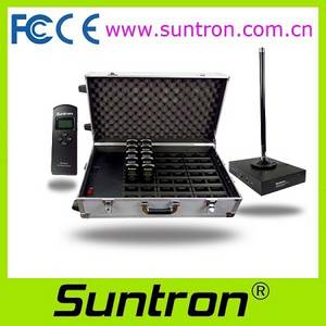 Wholesale preparation station: Suntron Wireless Voting System