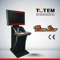 Totem Star Stand Up Style Arcade Game Machine