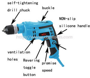 Wholesale power tool: Electric Drill 650W High Quality Power Tools Manufacturer