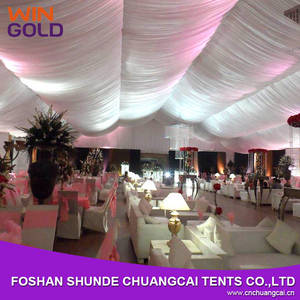 Wholesale outdoor tents for parties: Luxury 25x60m Party Marquee Clear Span Tent for Outdoor Wedding Celebration